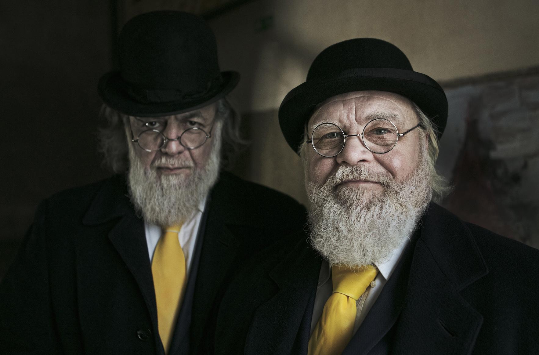Dan Prince - Latvians - 2 men with yellow ties