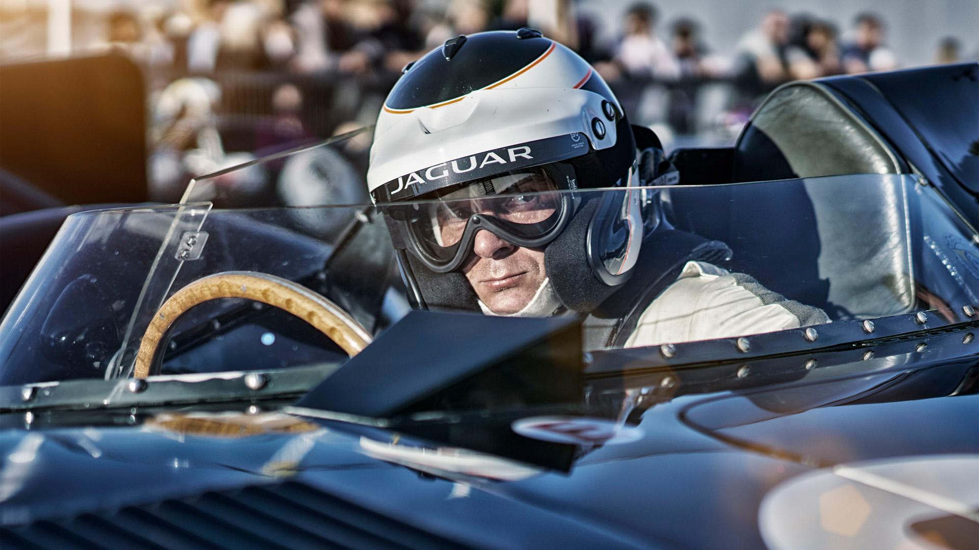 Nigel Harniman Goodwood revival Jaguar