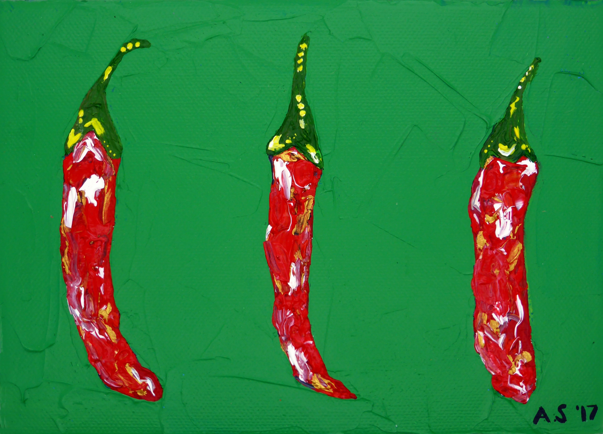Alice Straker - Chillies