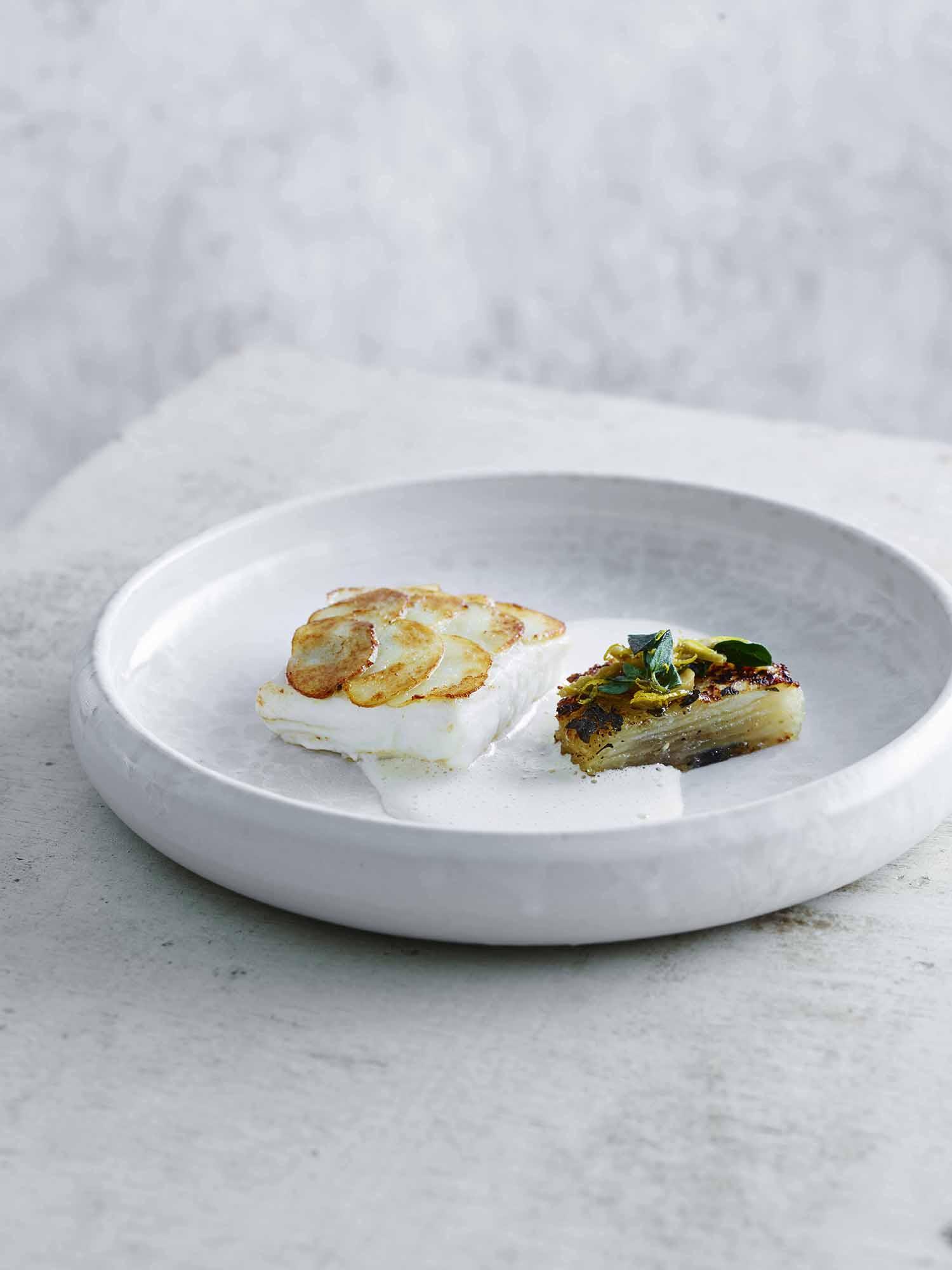 Lars Ranek - white fish dish