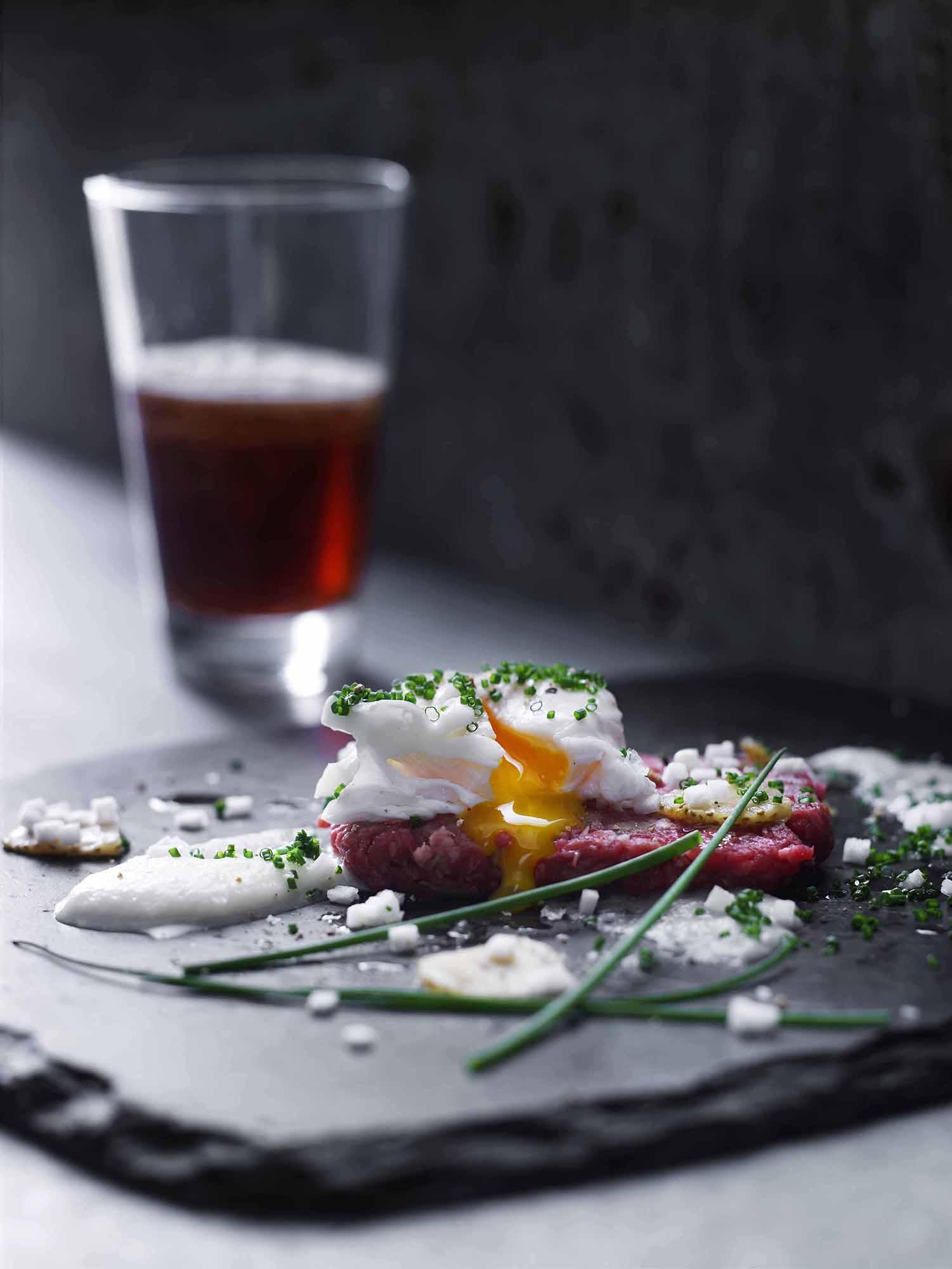 Lars Ranek - slate platter herbs and spices