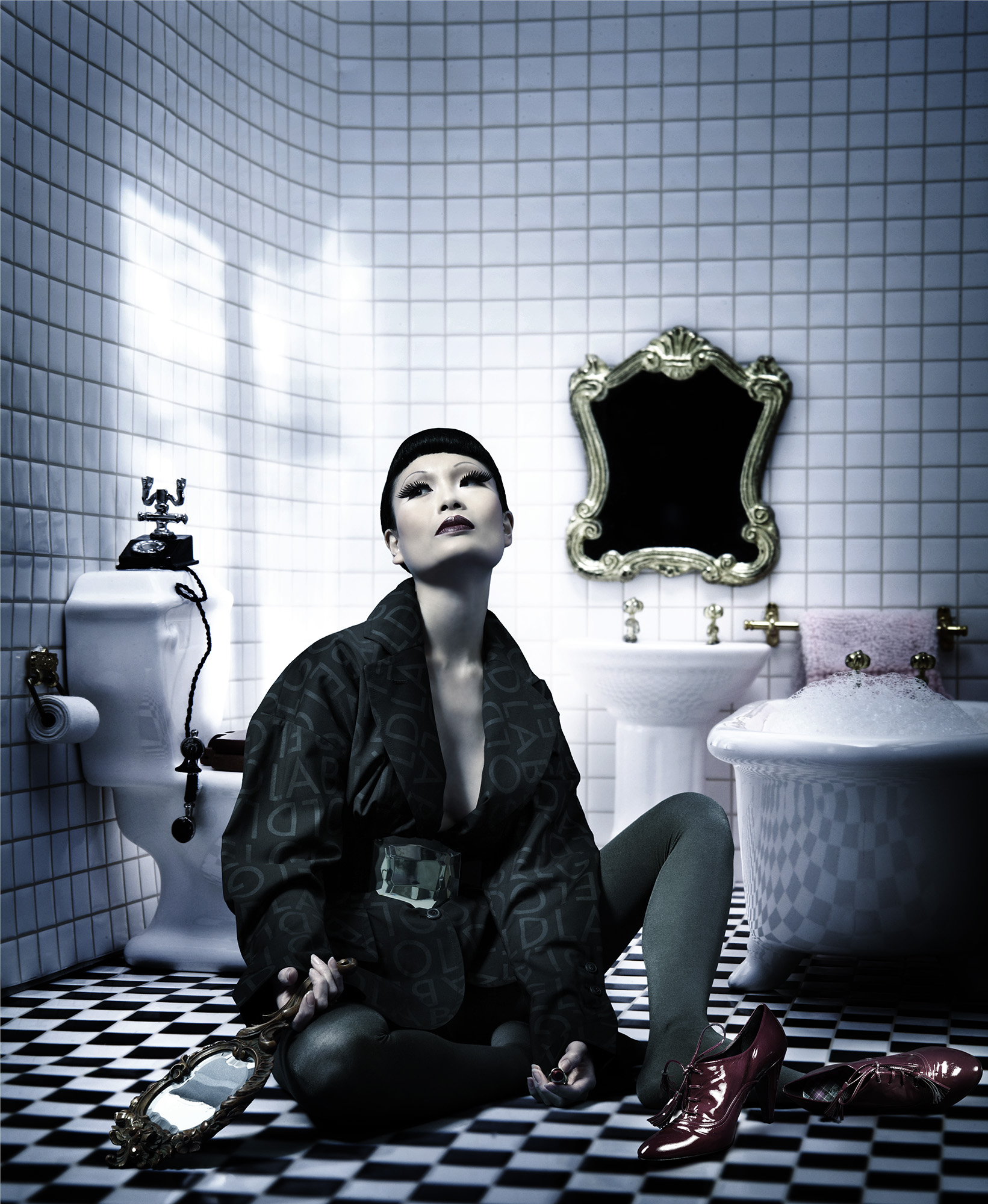 Anatol de cap Rouge - growing up - bathroom 2