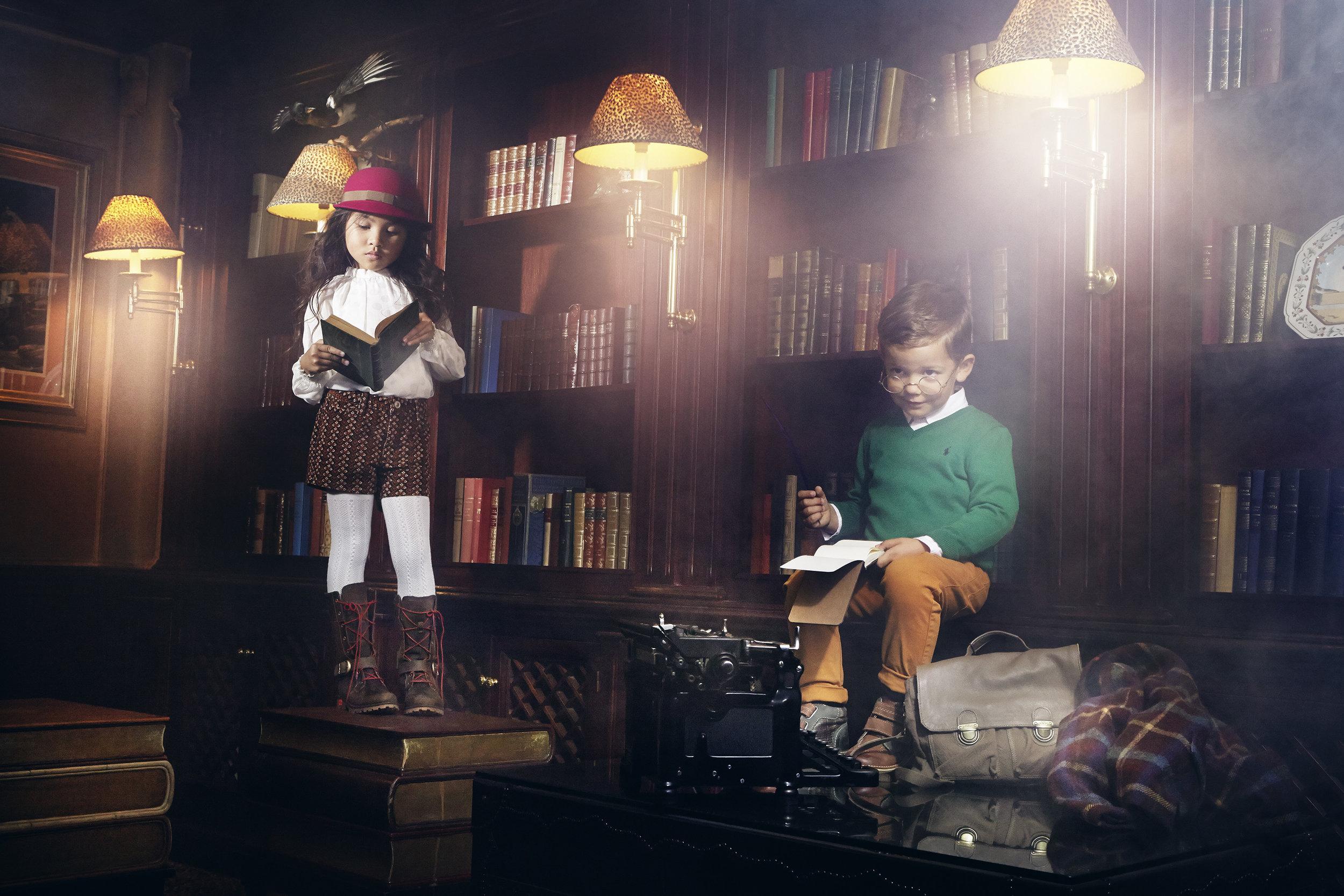 Ilve Little Kids in library