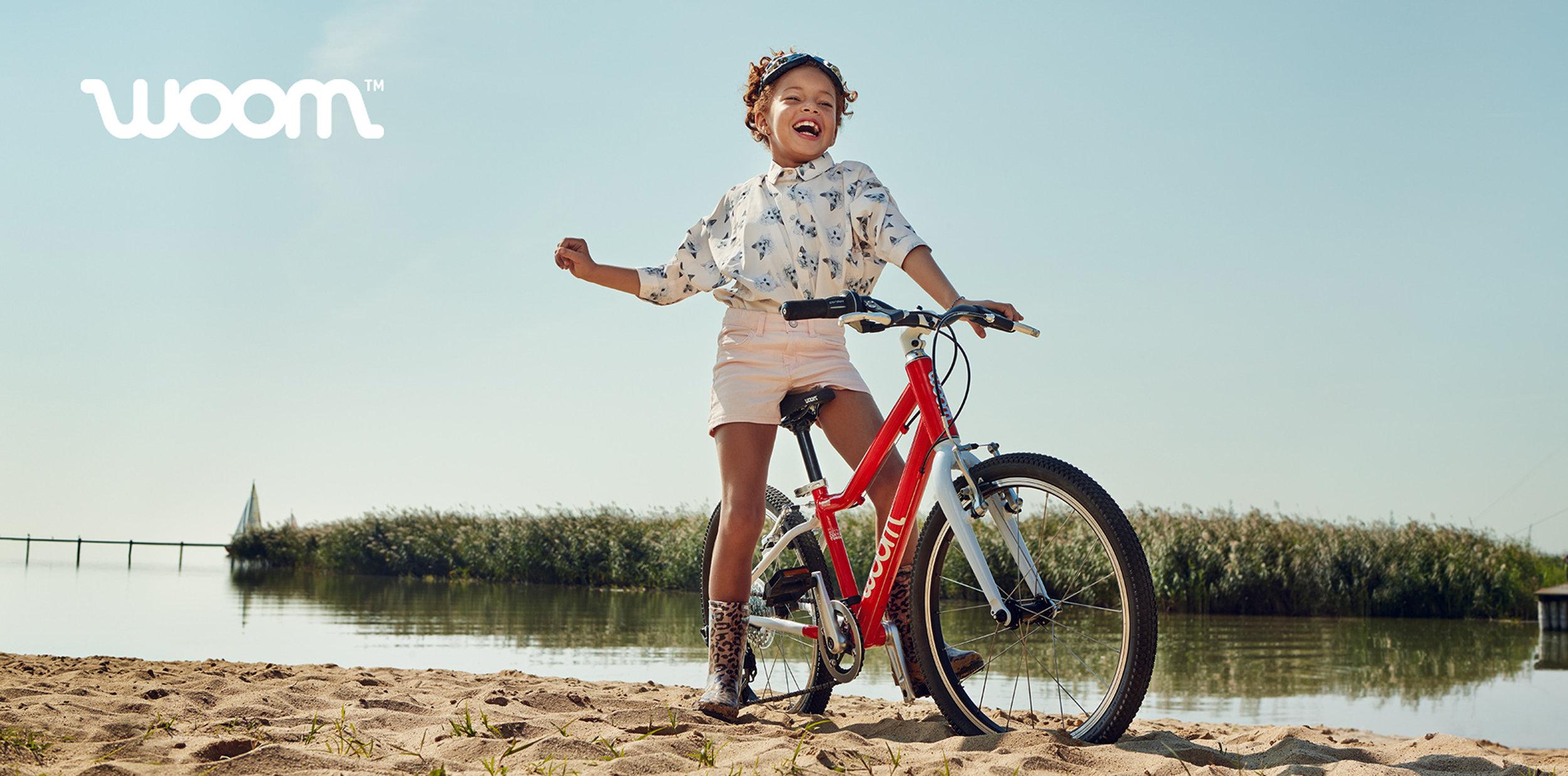 Ilve Little child on bike
