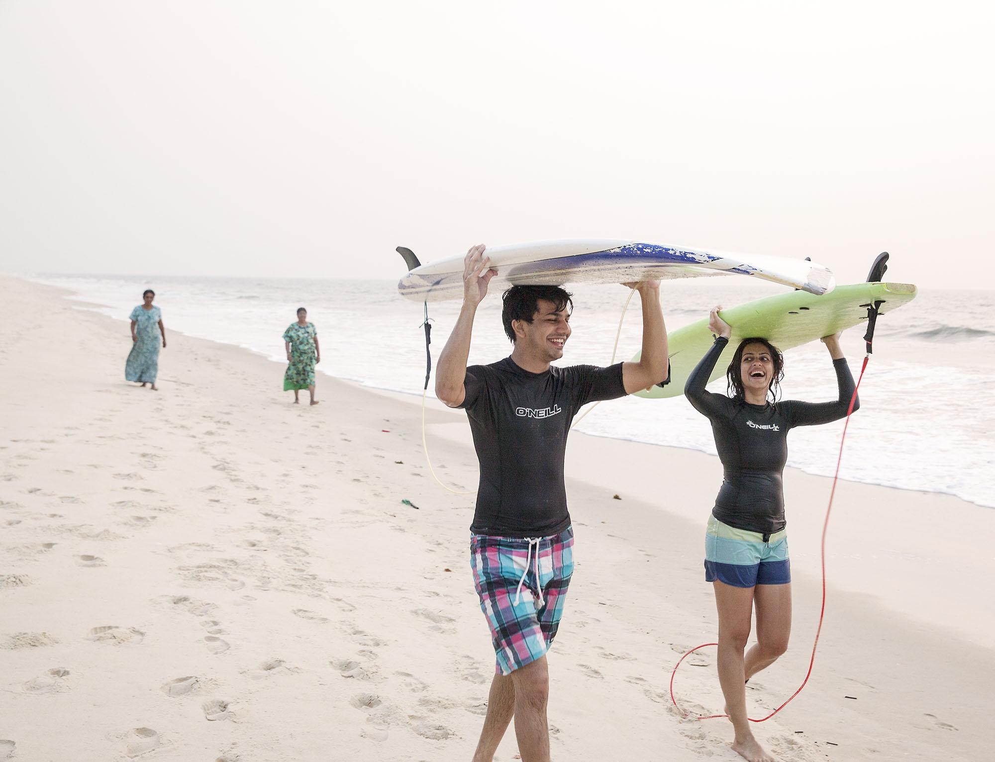 Karan Kapoor - beach