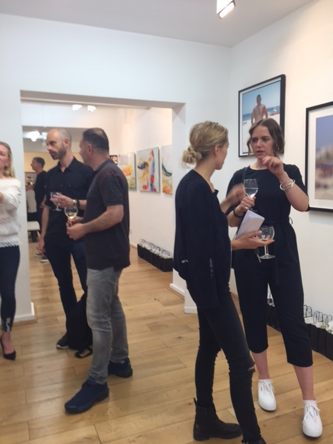 SQUINT preview evening Brick Lane Gallery