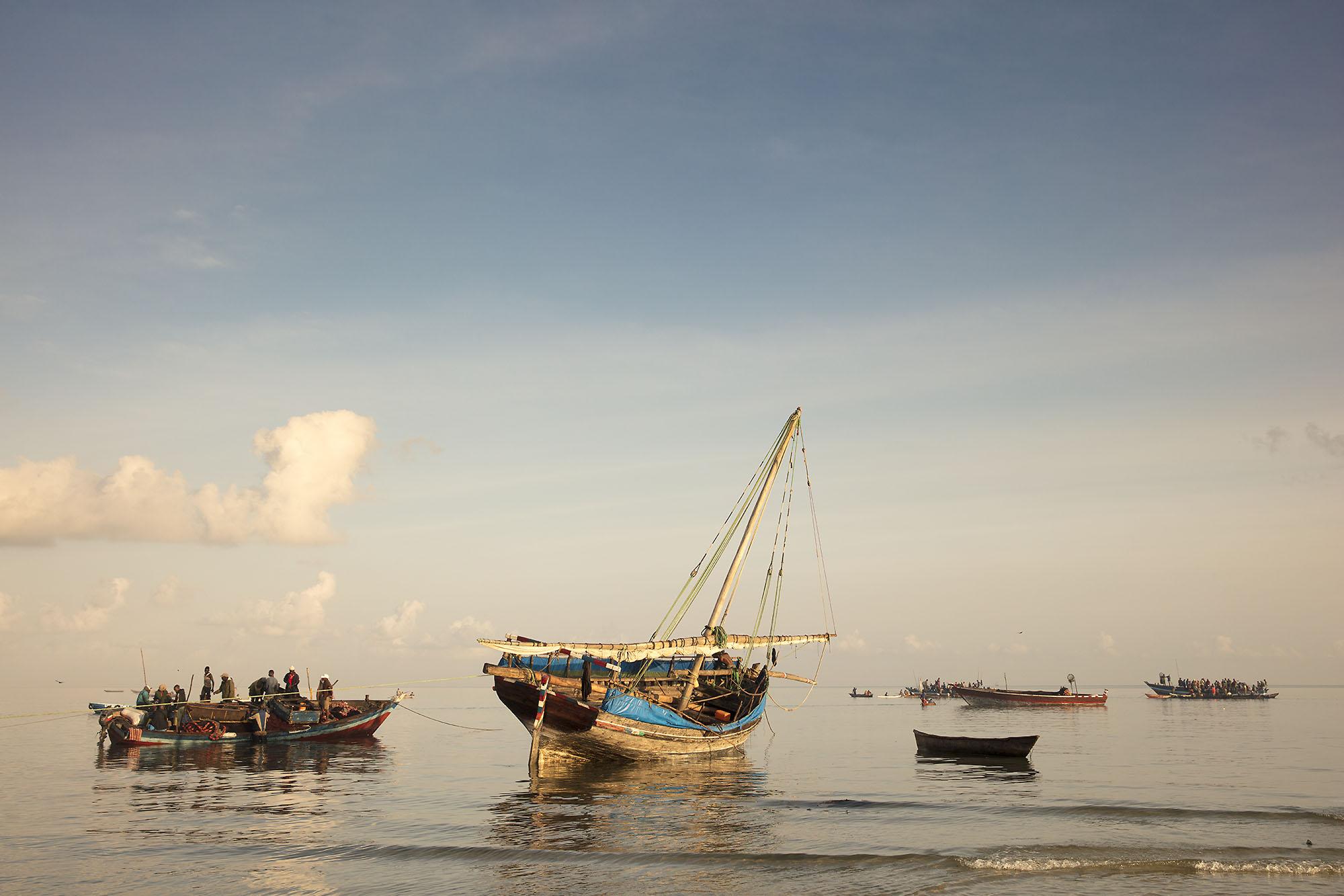 Karan Kapoor - Mafia Island boats