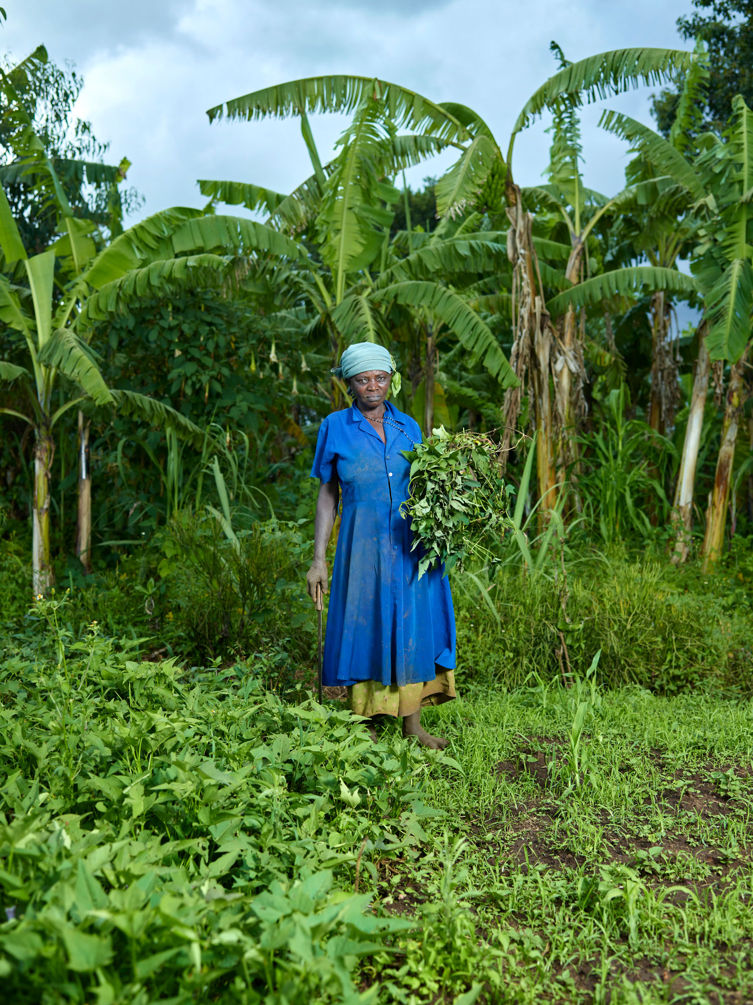 Uganda - Village lady