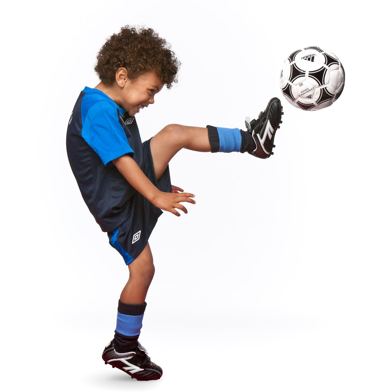 Tim Platt - little boy kicking ball