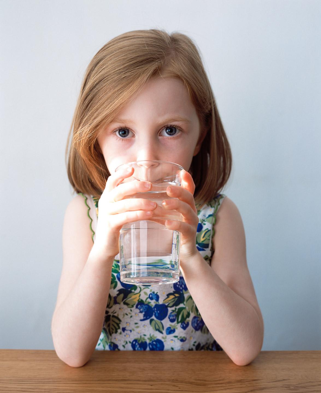 Tim Platt - little girl drinking