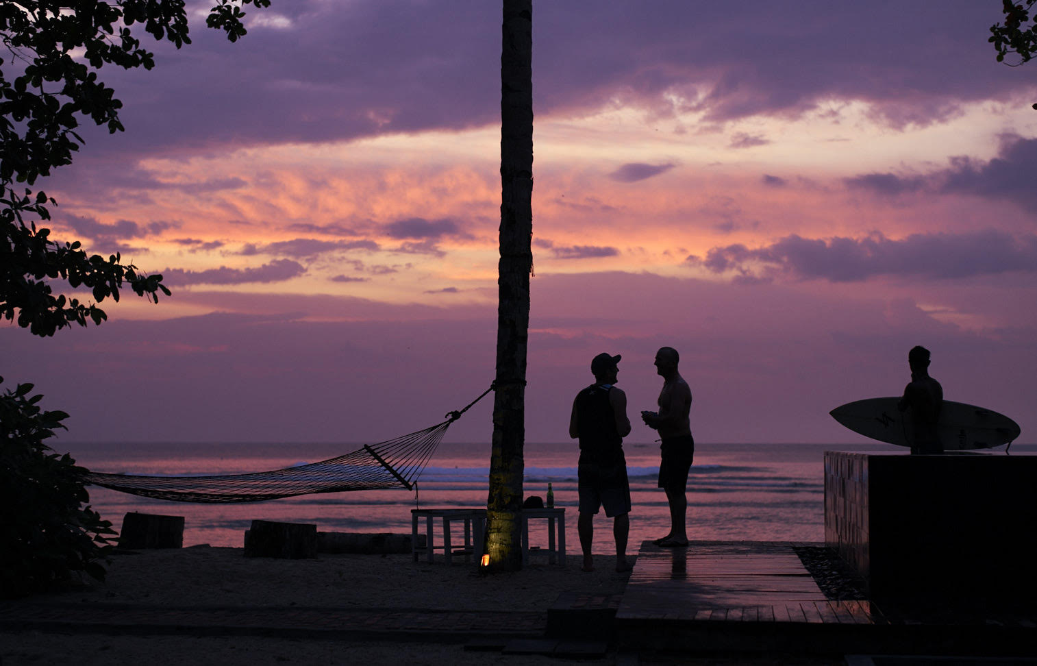 Grant Smith - Sunset on beach