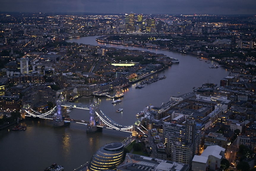 Grant Smith - London Ariel view -Tower Bridge