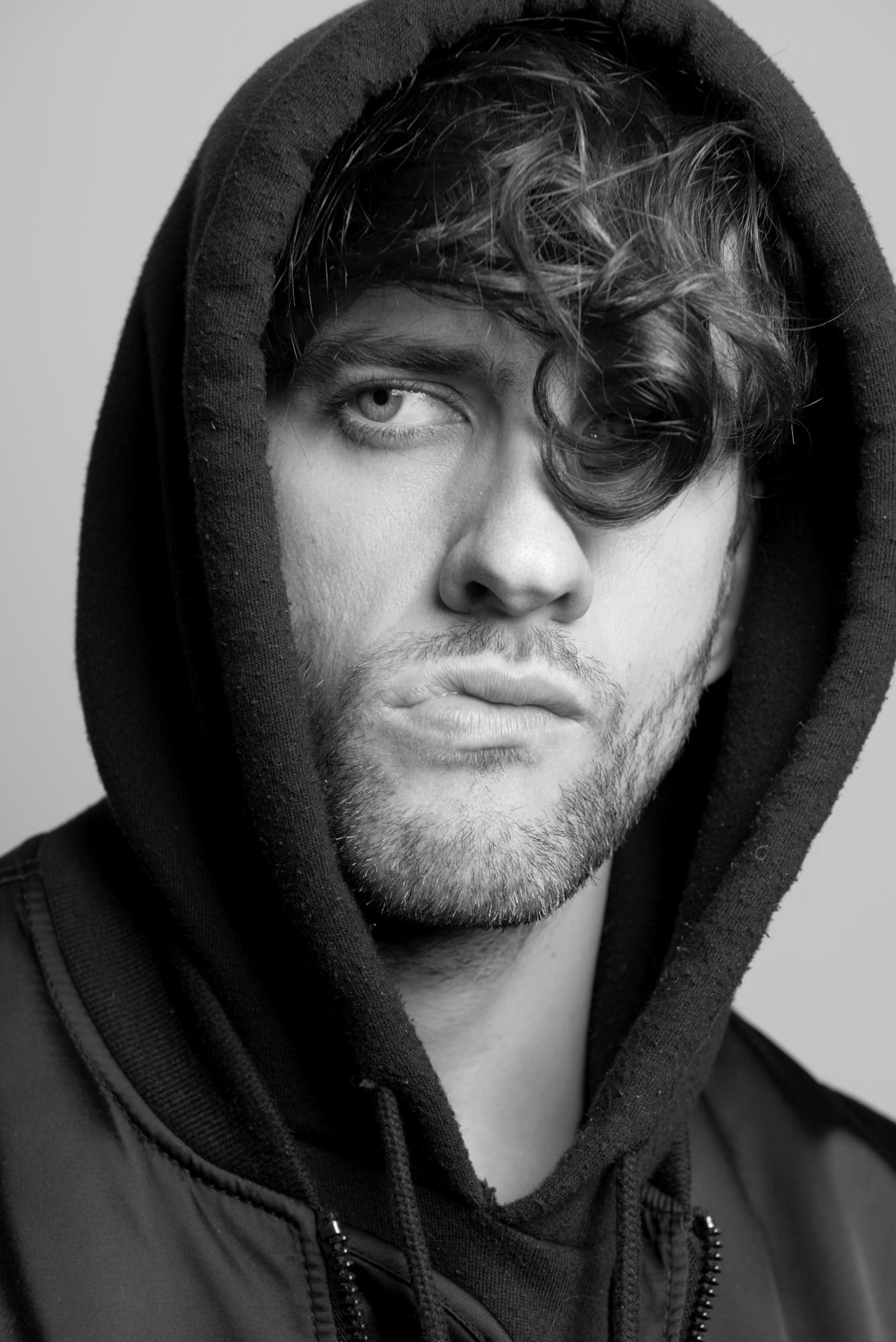 Rob Baker Ashton - man in hoody