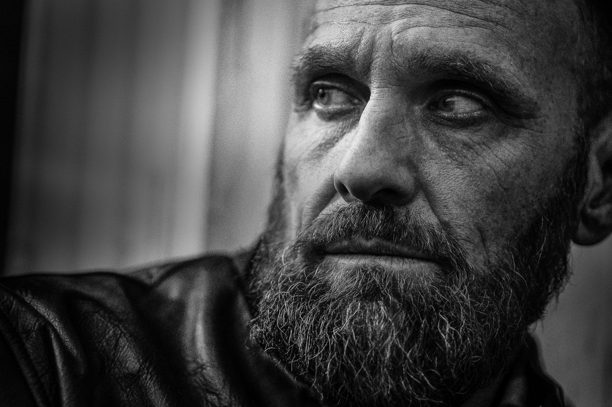 Chris Clor - portrait of guy with beard
