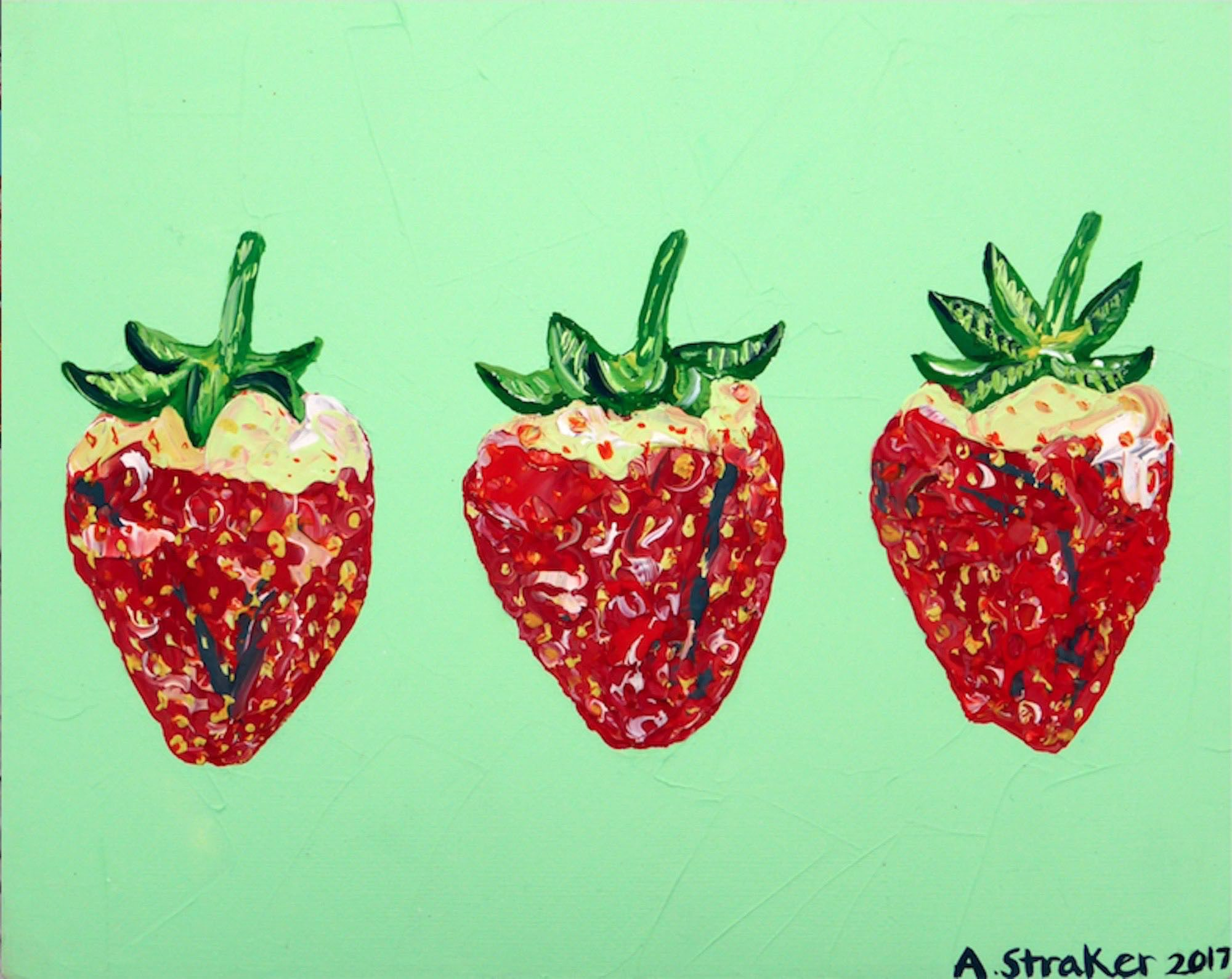 3 Strawberries Alice Straker .jpg