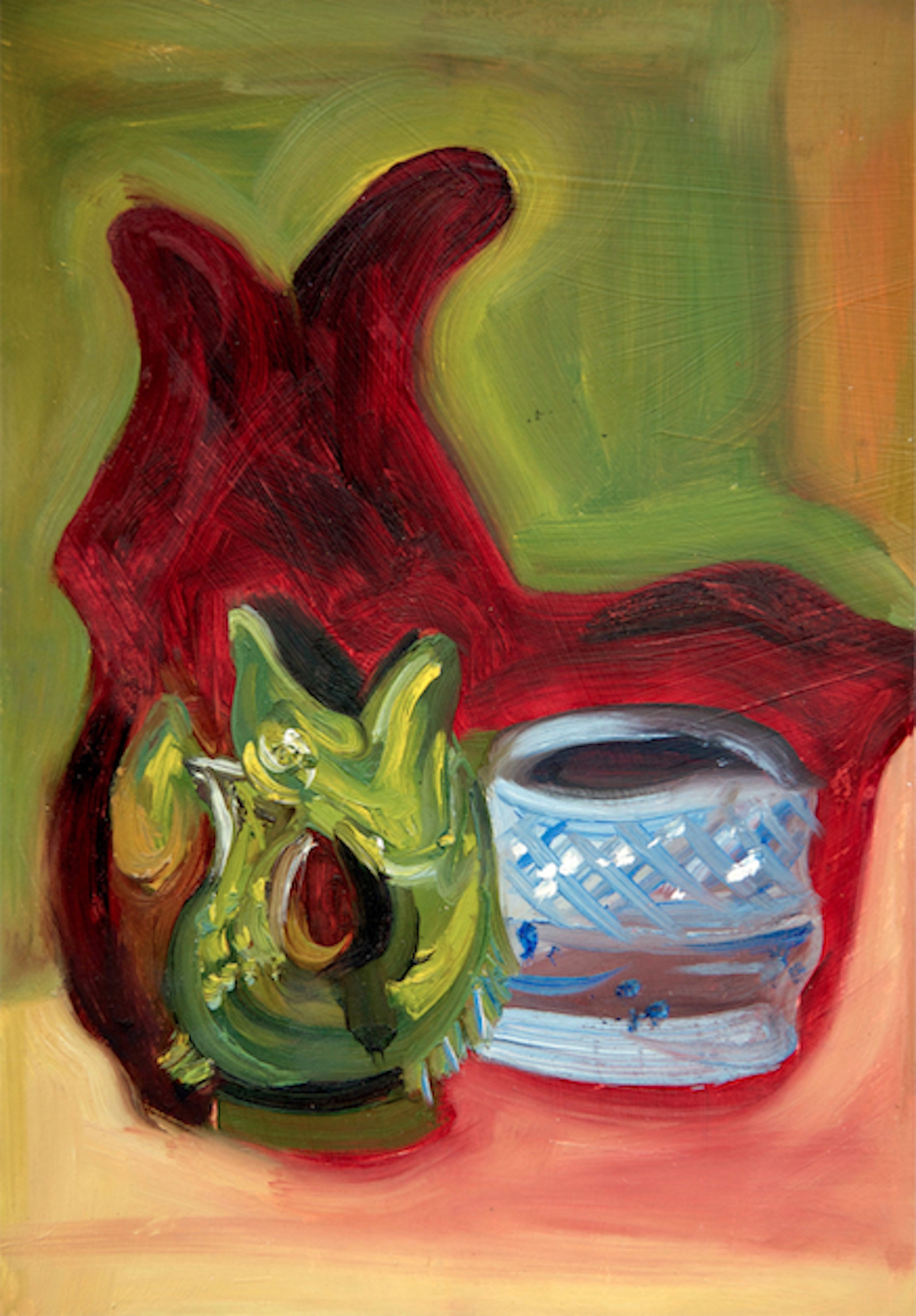 Fish Jug and Pot Still Life Alice Straker.jpg