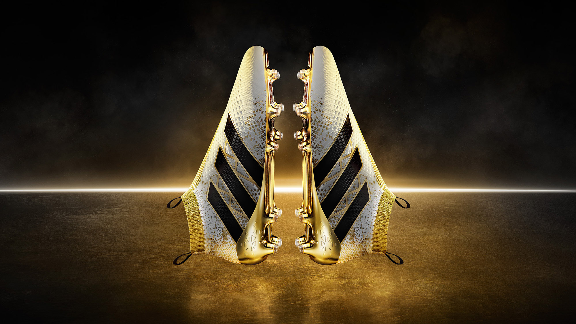 Tal Silverman Golden Football Boots