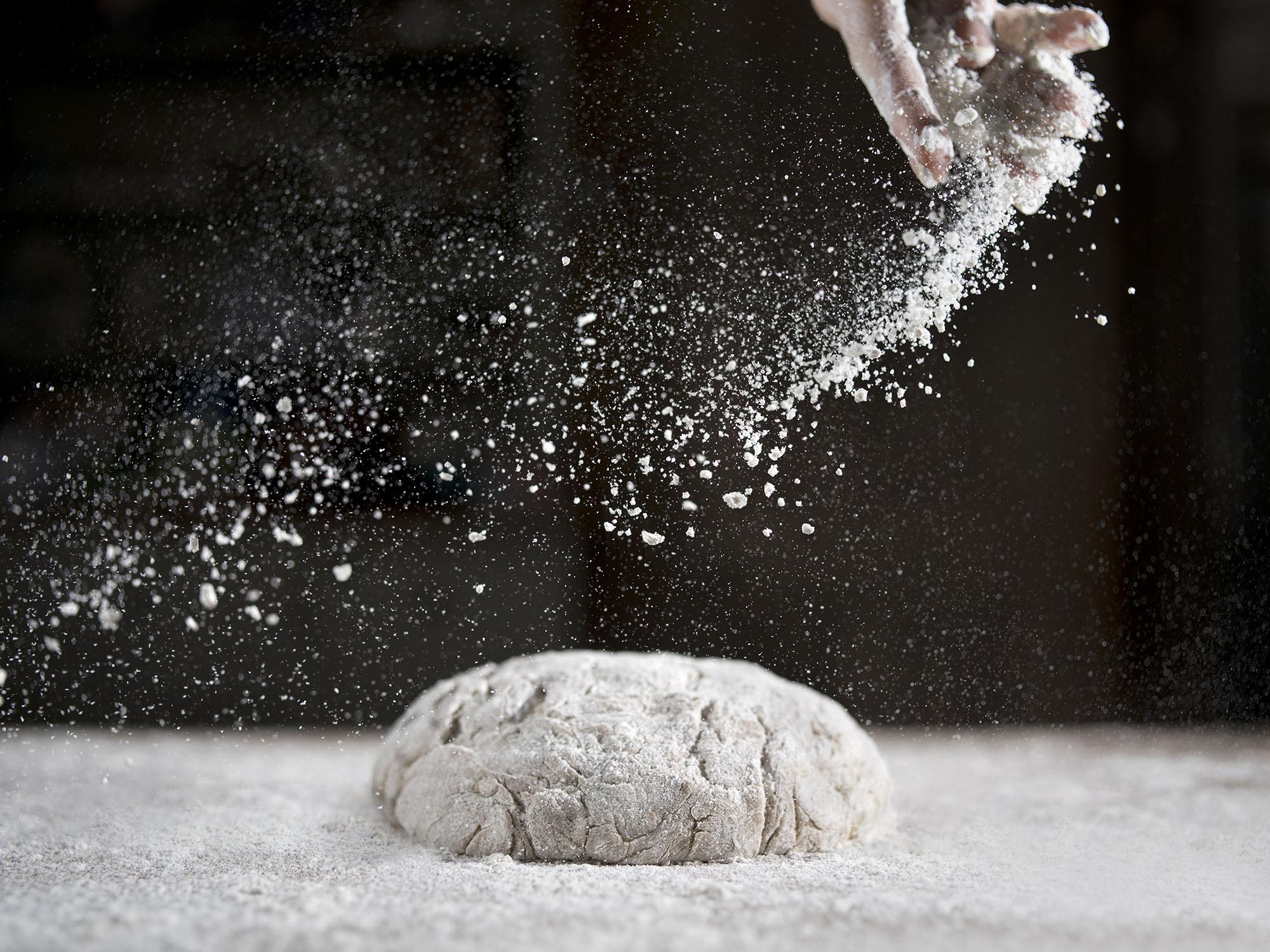 Roy Mehta Baking Dough