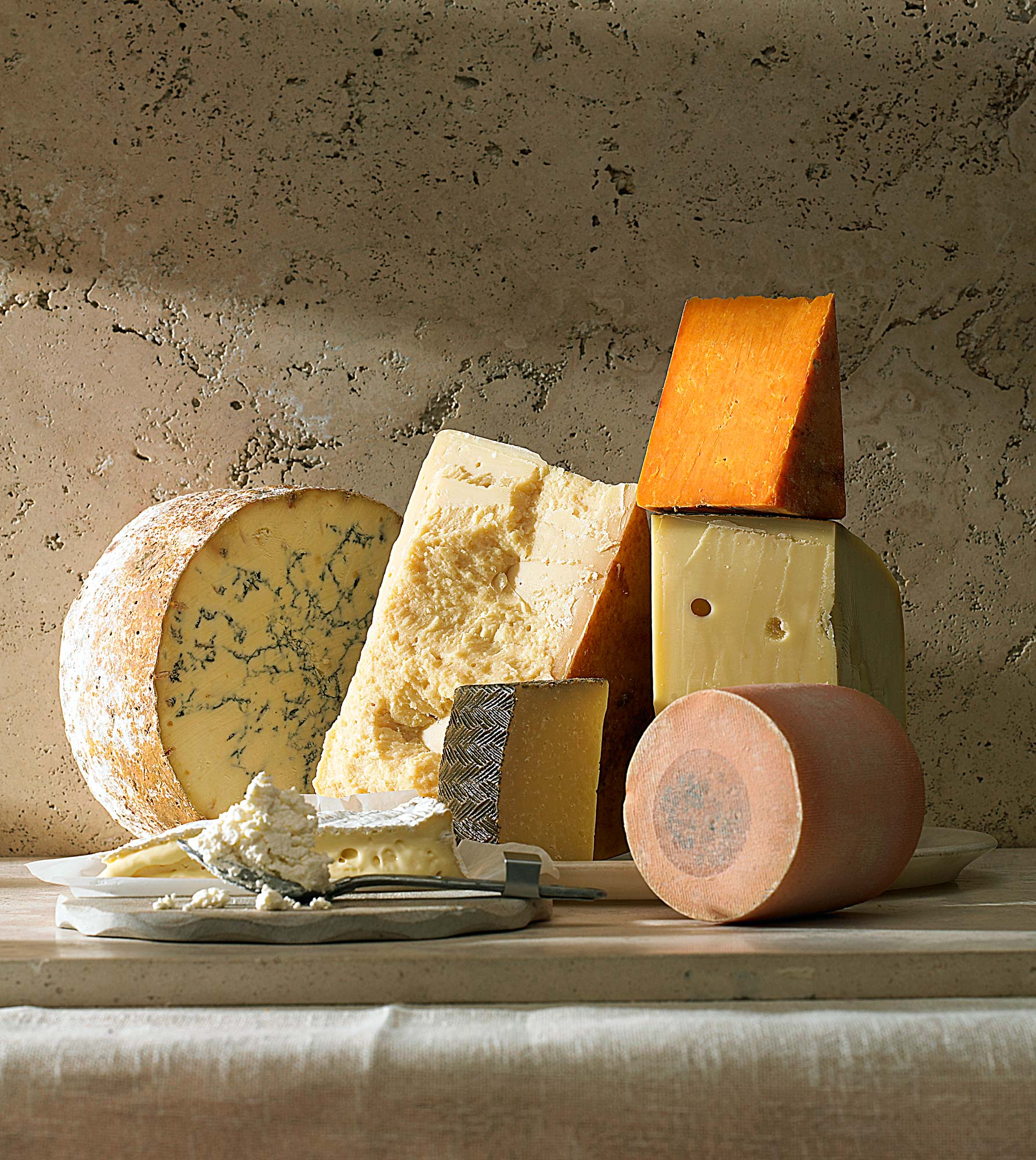 Stuart West - cheese