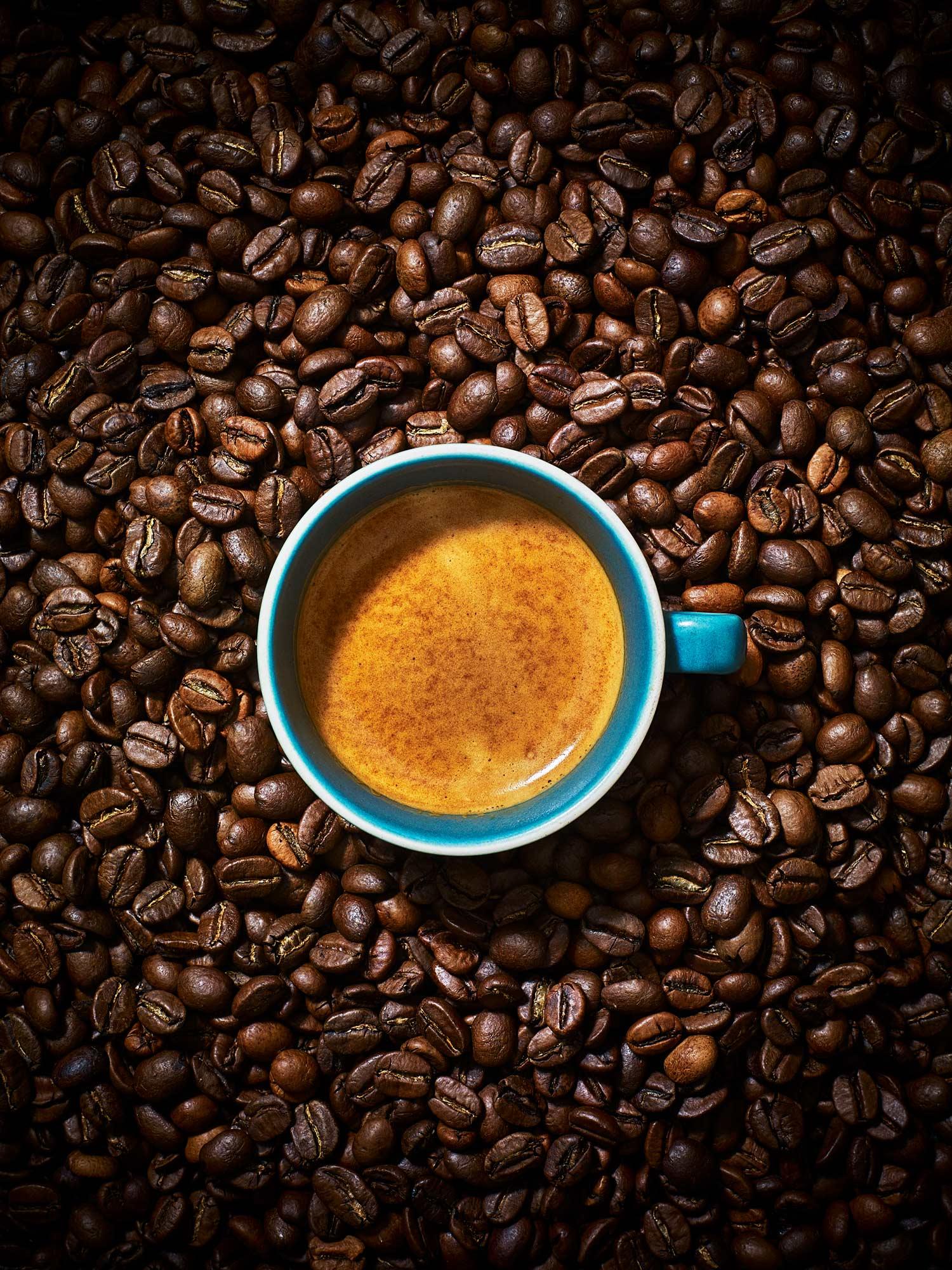 Stuart West - Coffee beans