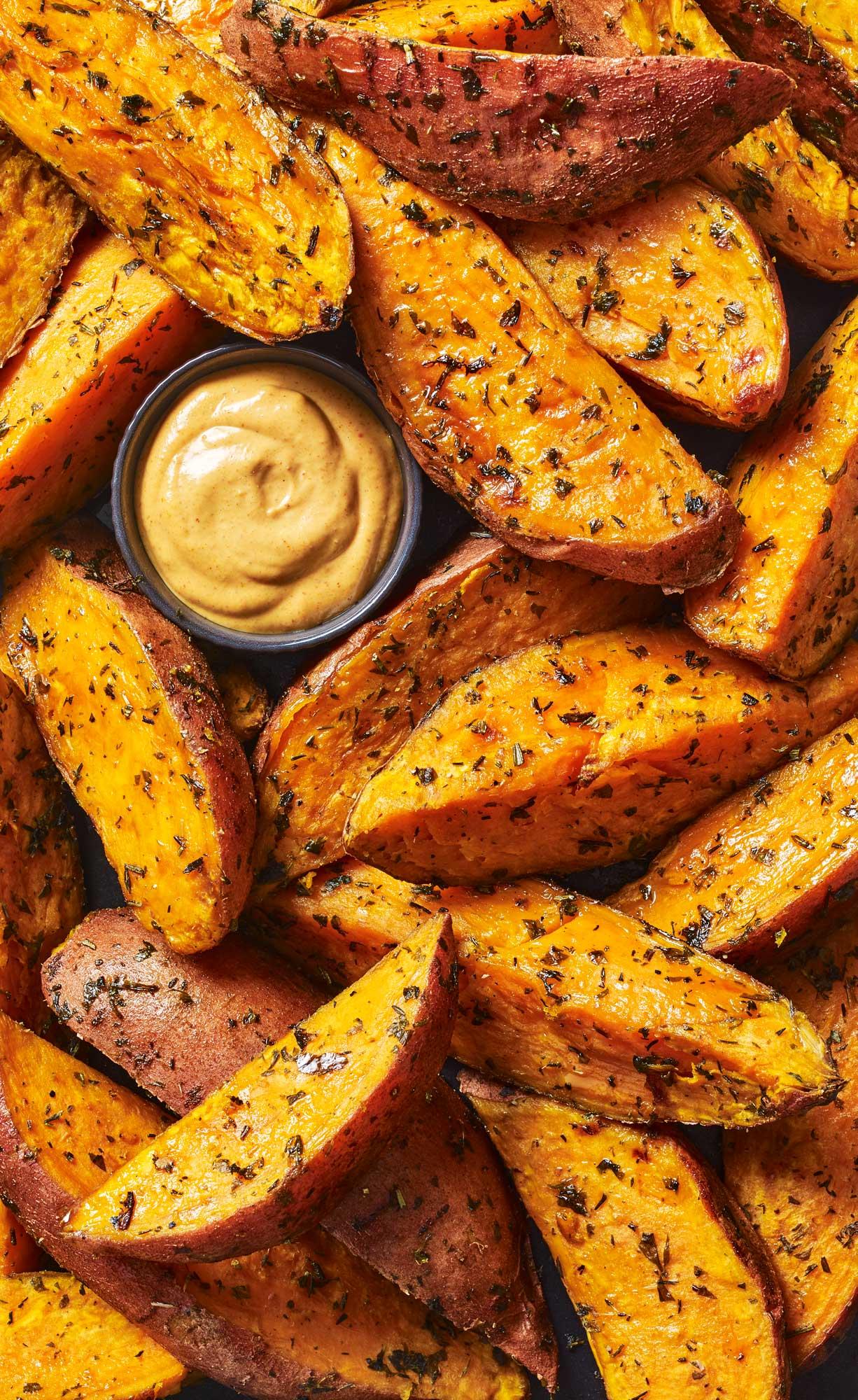 Stuart West - potato wedges