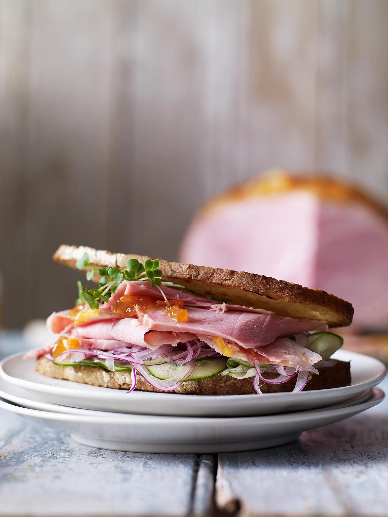 Stuart West - Ham sandwich
