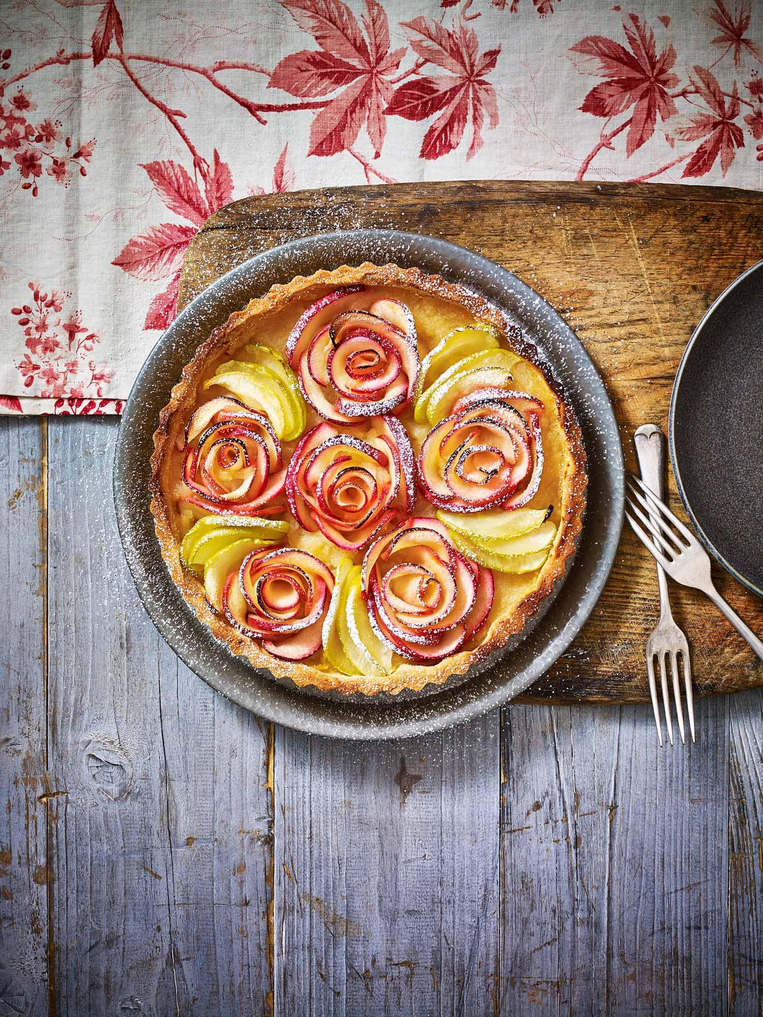 Stuart West - apple tart