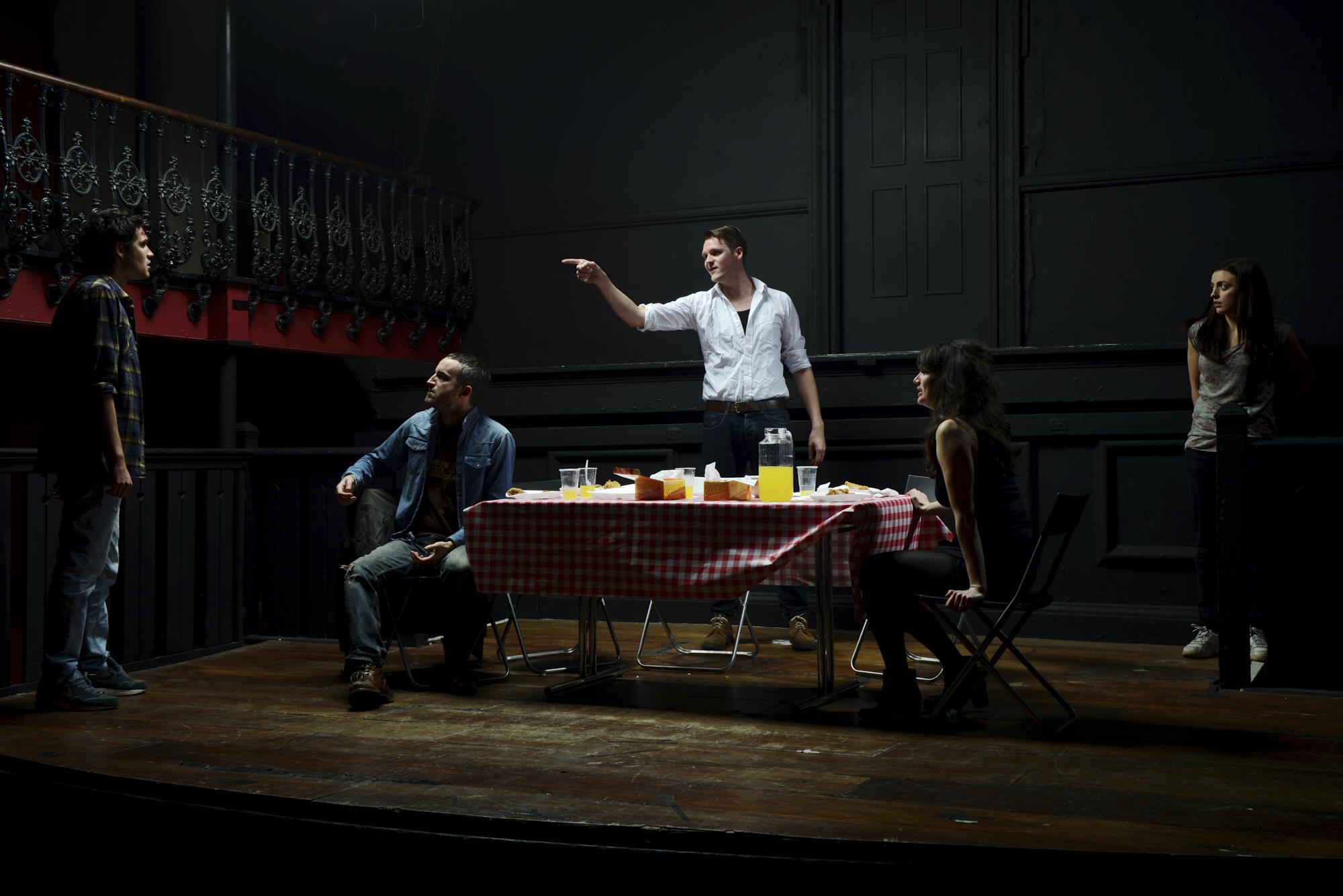 Rob Baker Ashton - The Understudy - The performance