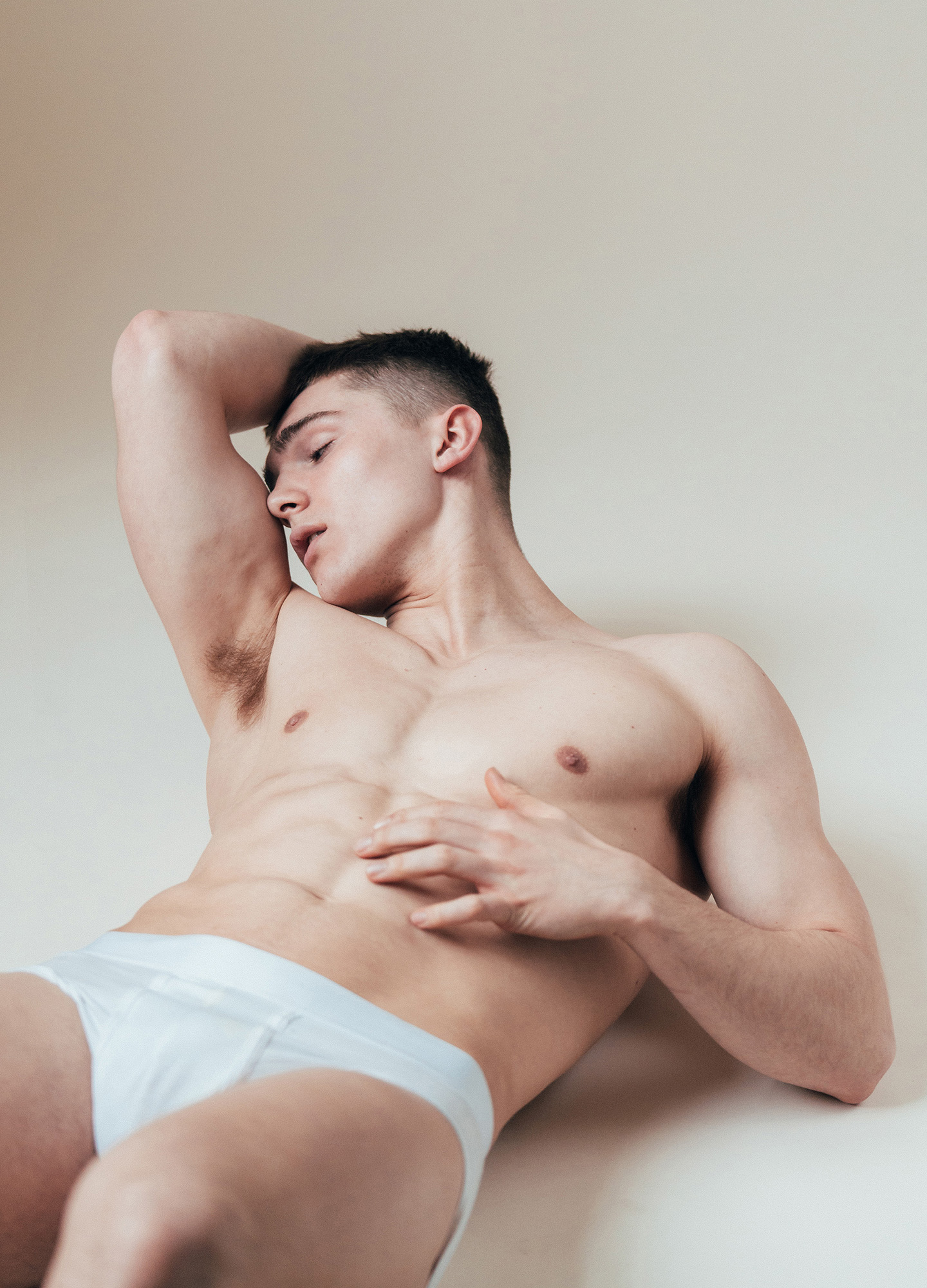 Ira Giorgetti - guy in white underpants