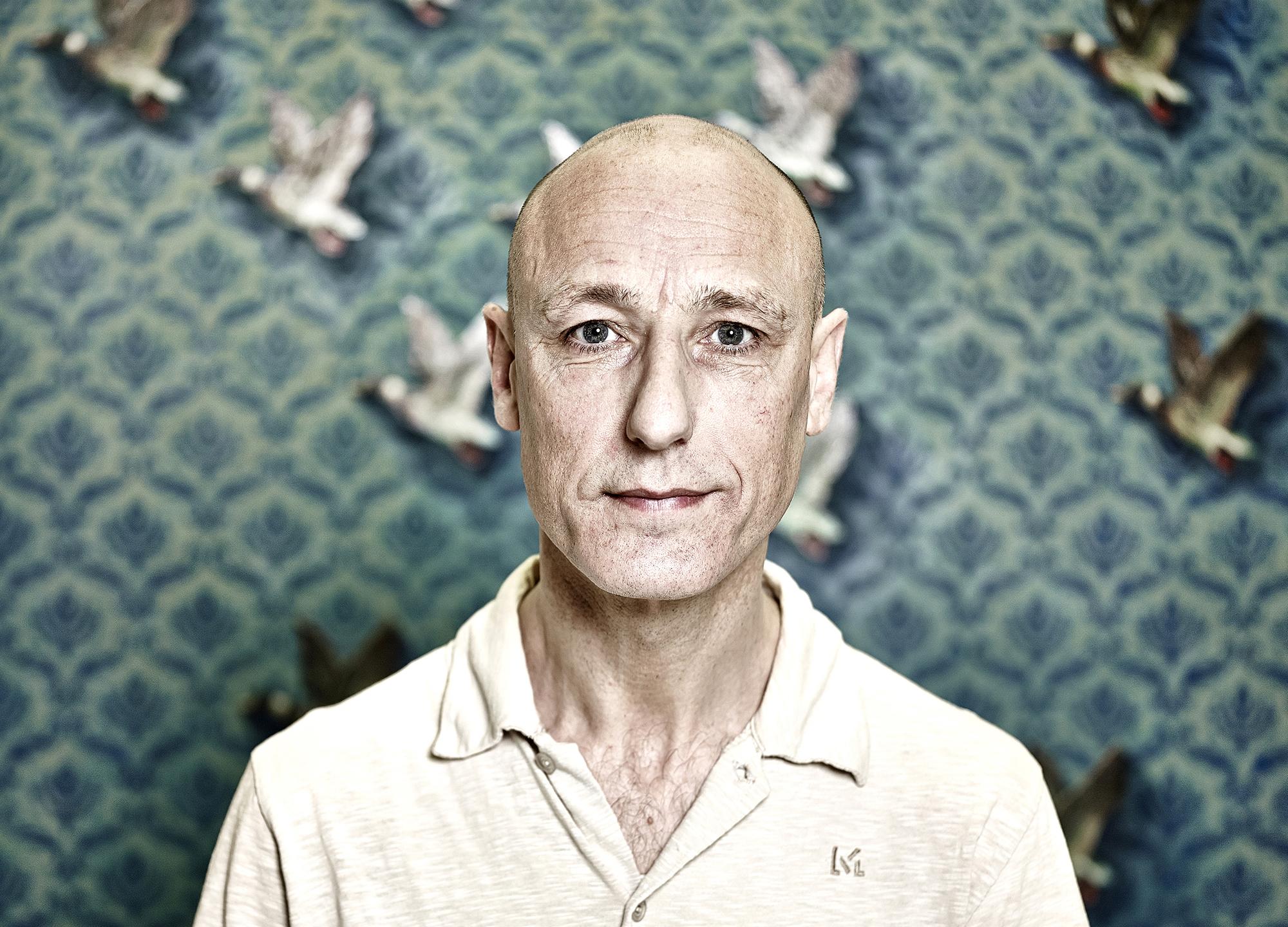 John Donoghue - portrait gavin watson