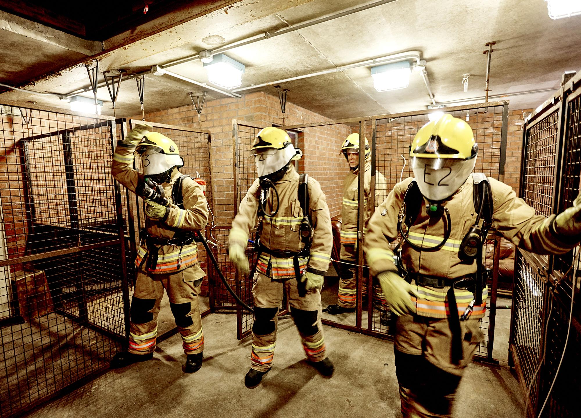 John Donoghue - firefighters