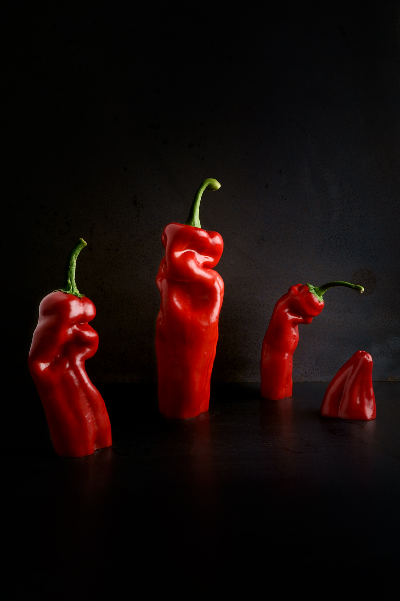 Kevin Mallett - dancing peppers