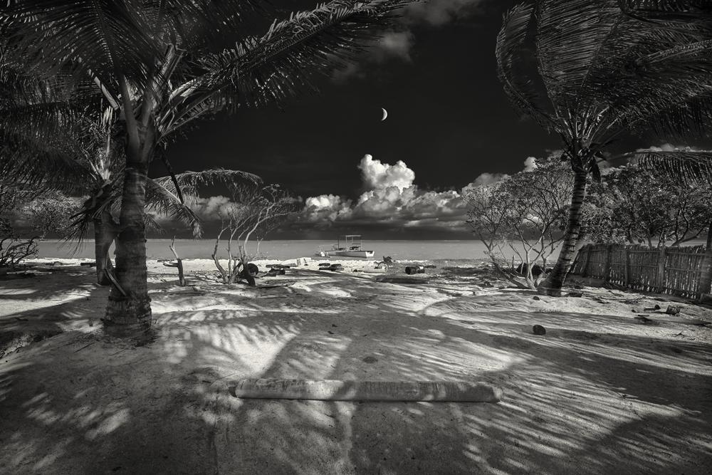 George Kavanagh beach and moon