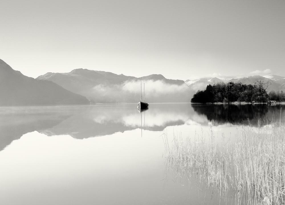 George Kavanagh boat on lake