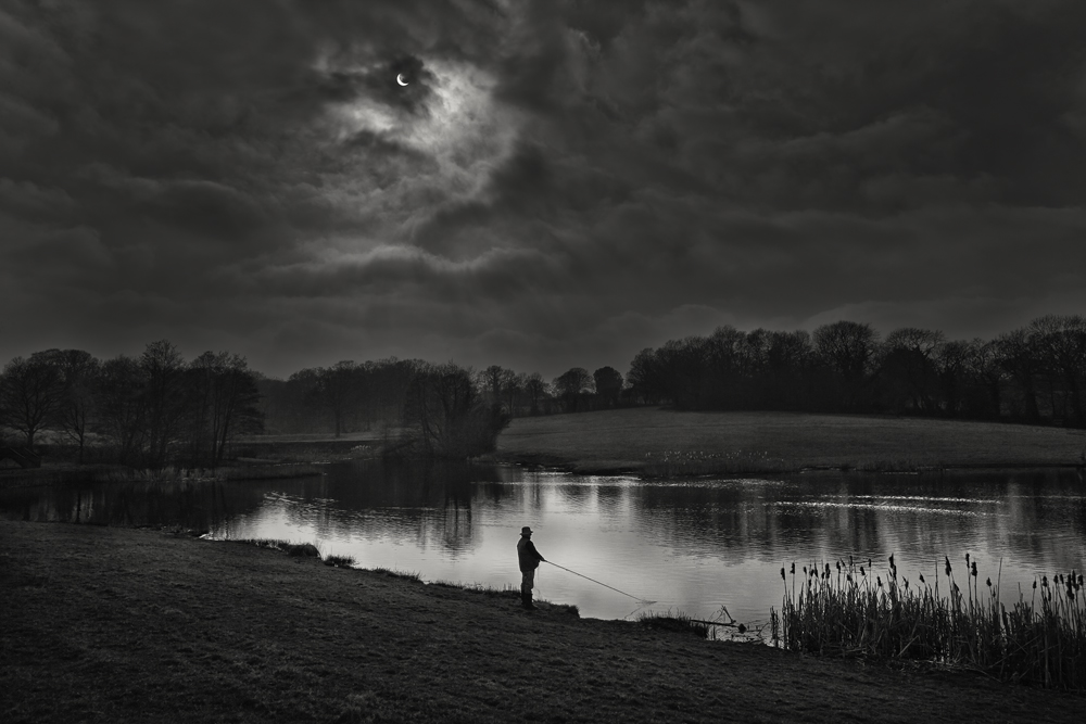 George Kavanagh eclipse fishing