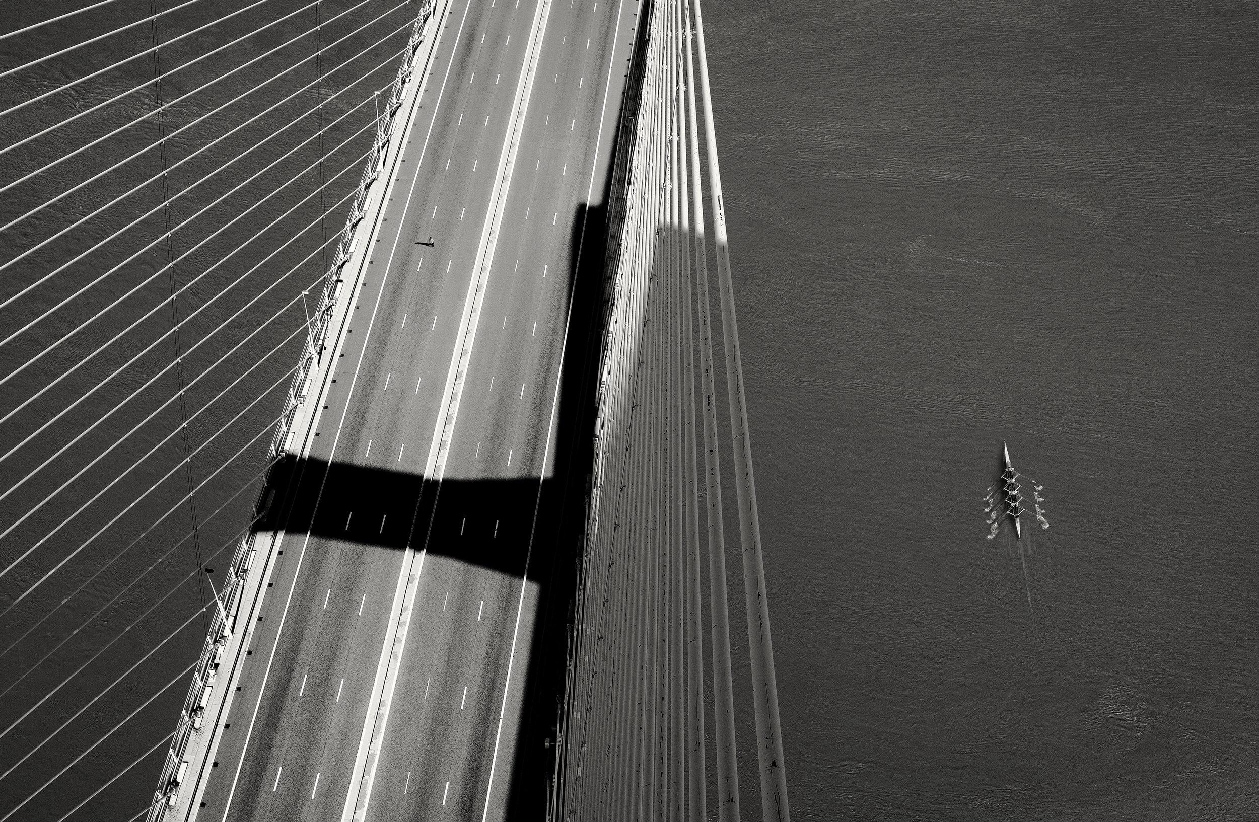 George Kavanagh rowers and bridge