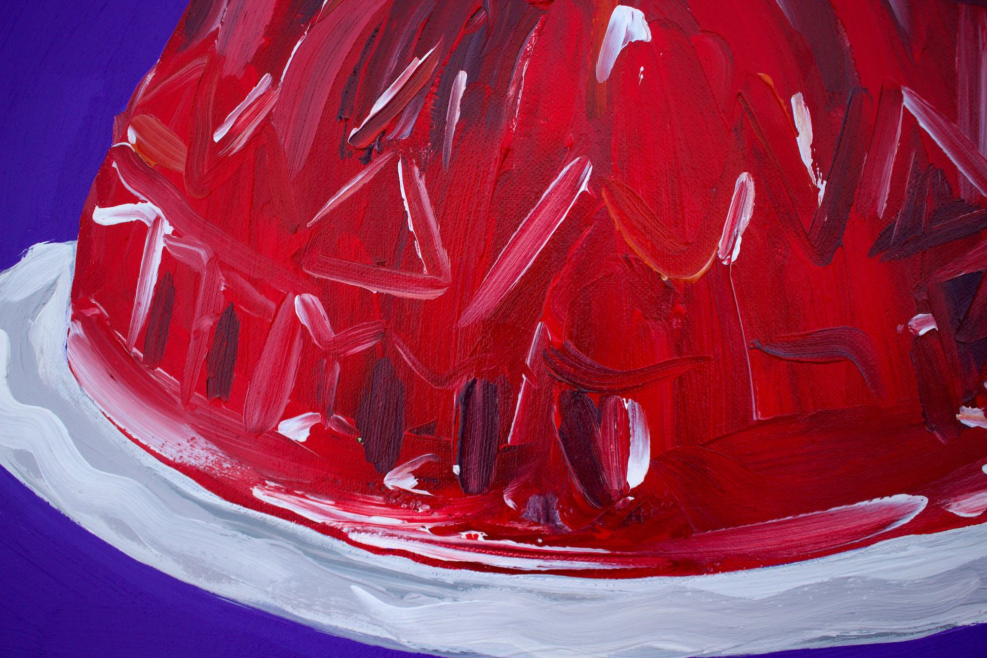 Alice Straker red jelly detail
