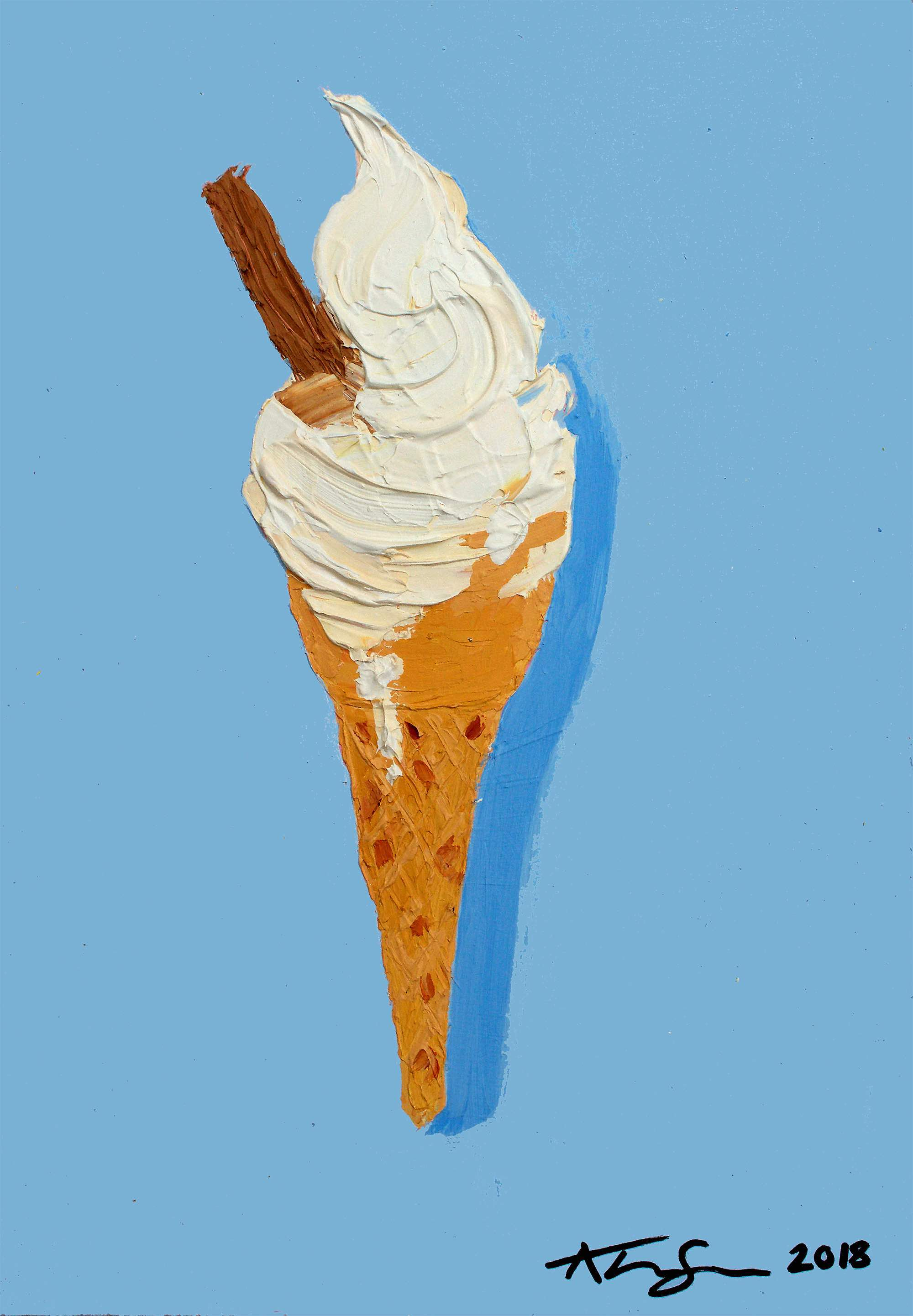 Alice Straker 99 ice-cream