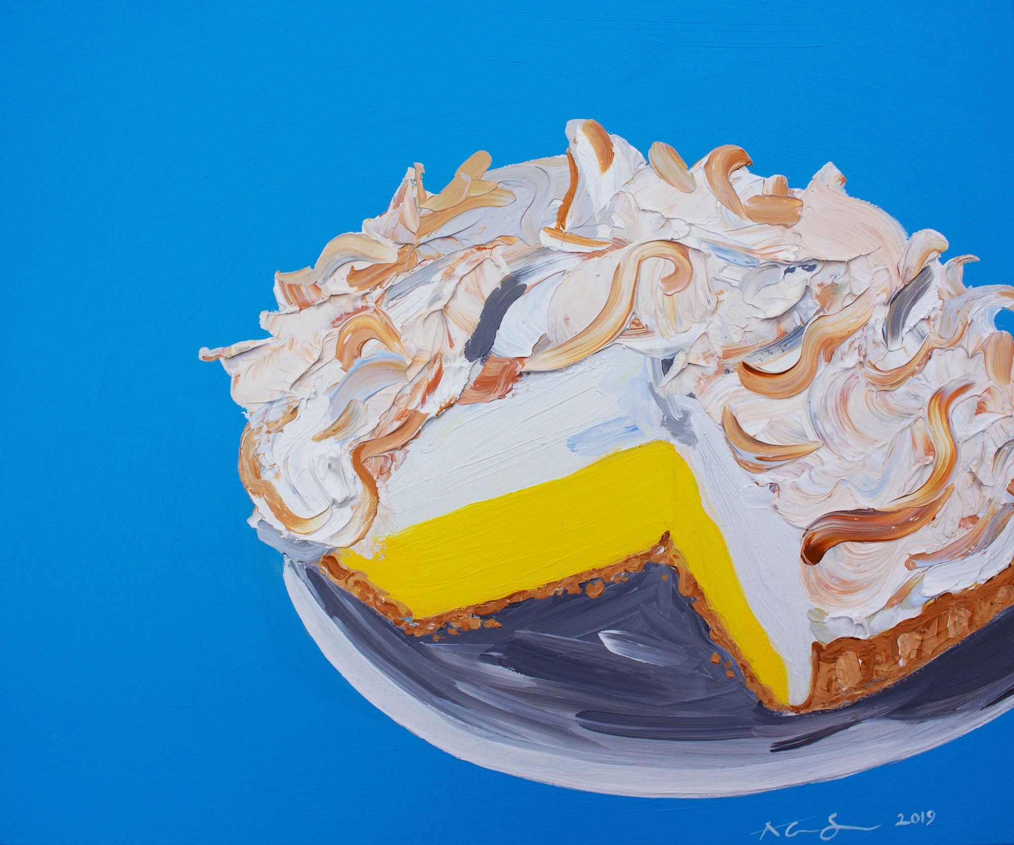 Alice Straker Lemon meringue pie