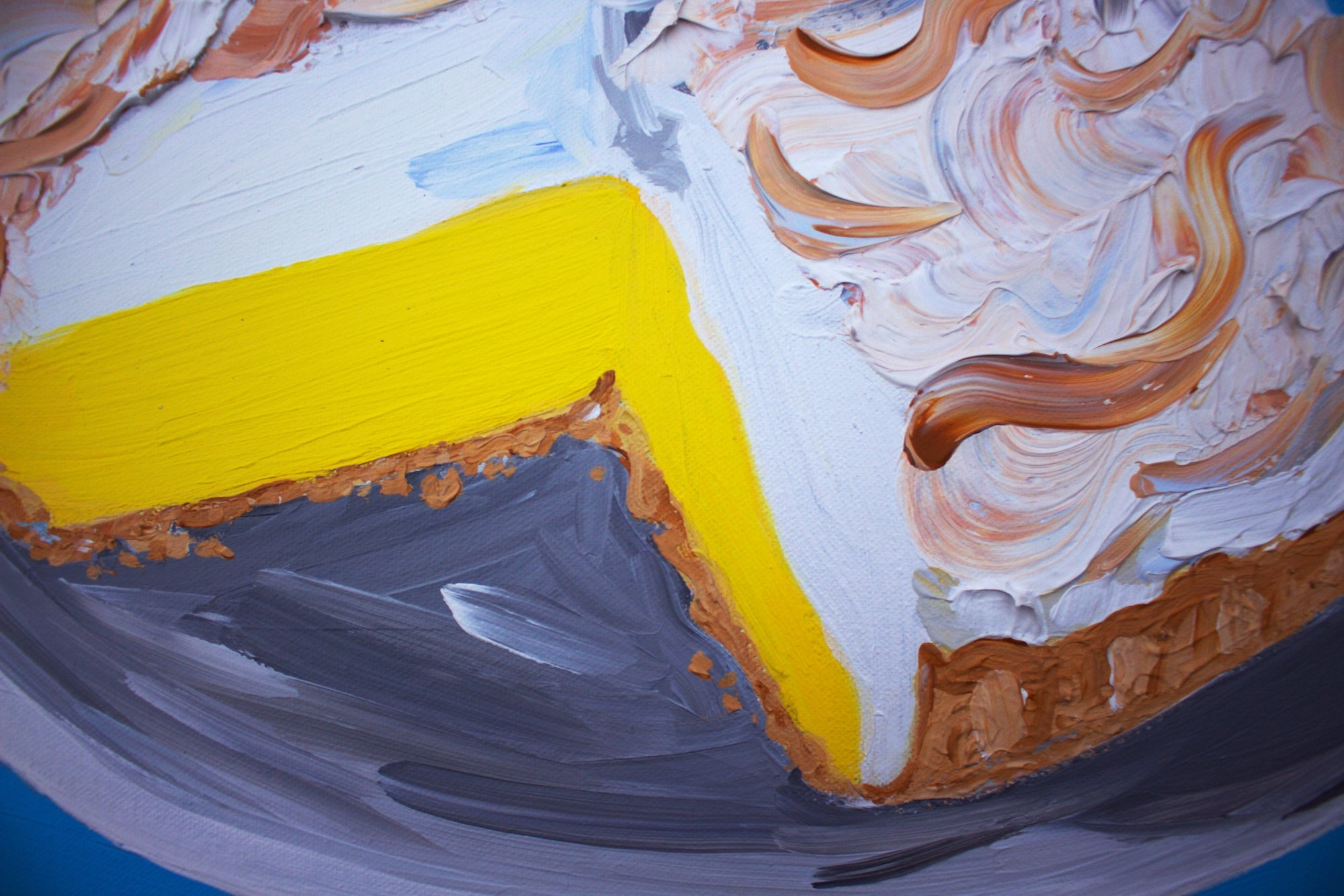 Alice Straker - Lemon Meringue pie detail