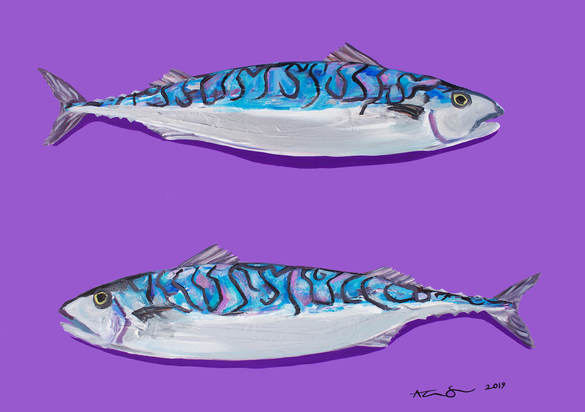 Alice Straker Mackerel