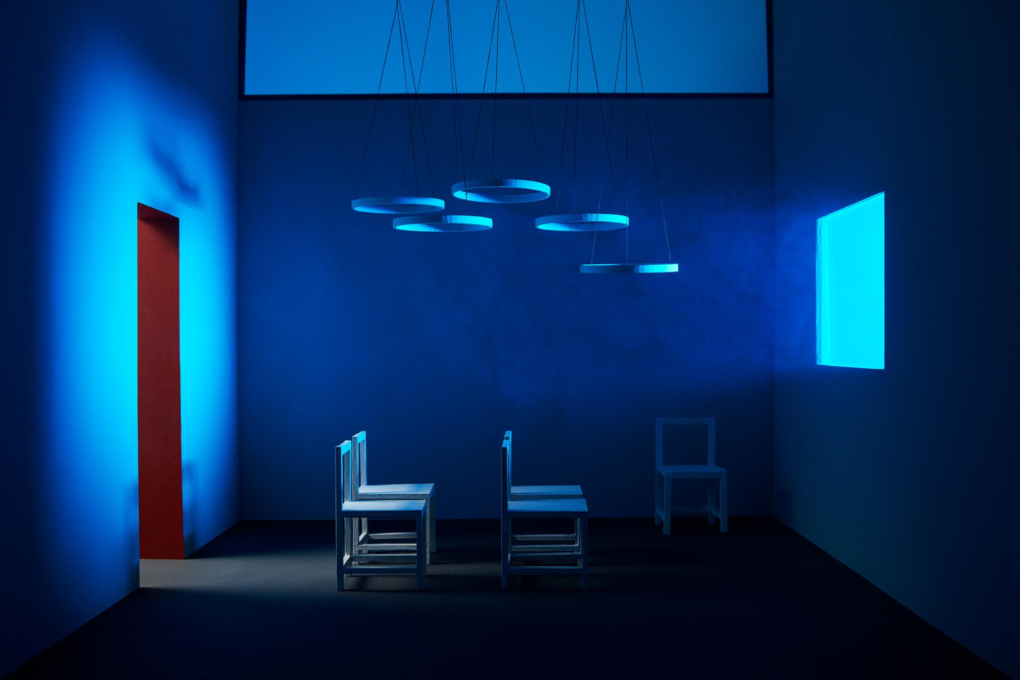 Andy Mackie - blue room
