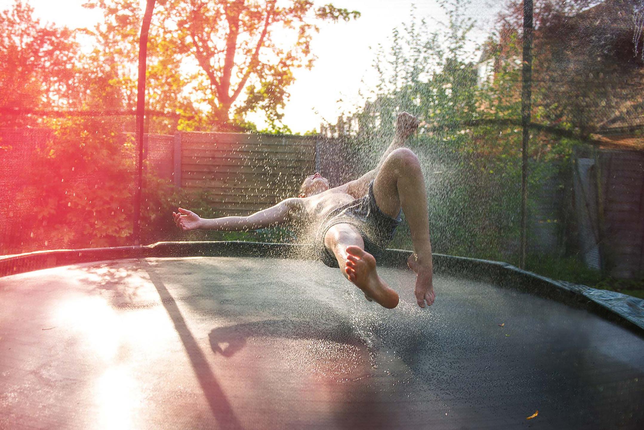Dean Northcott - Girl on trampoline