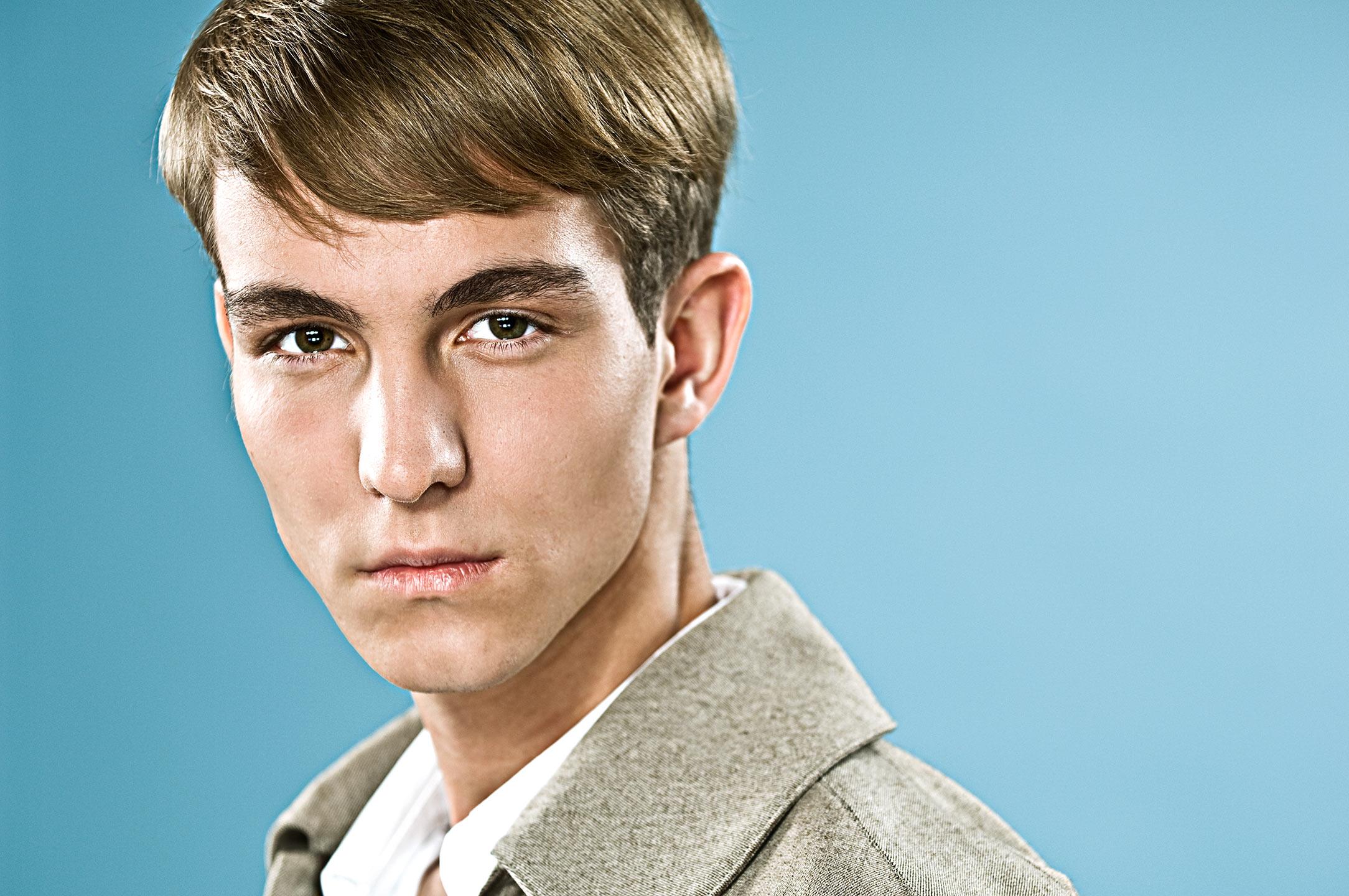 Dean Northcott - portrait of teenager