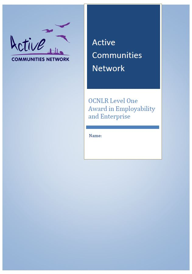 OCNLR Employability  Enterprise Level One final workbook Image.JPG