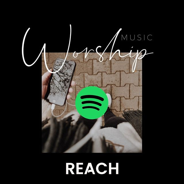 Have you ever wondered what songs we're singing on Sunday? A great way to get familiar is to follow the Reach Derby worship playlist on Spotify and YouTube!  Link in profile...