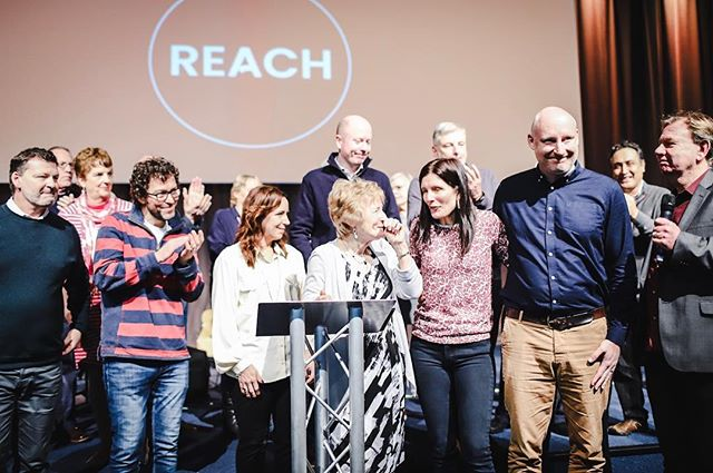 Thanks for joining us this morning as we launched Reach.