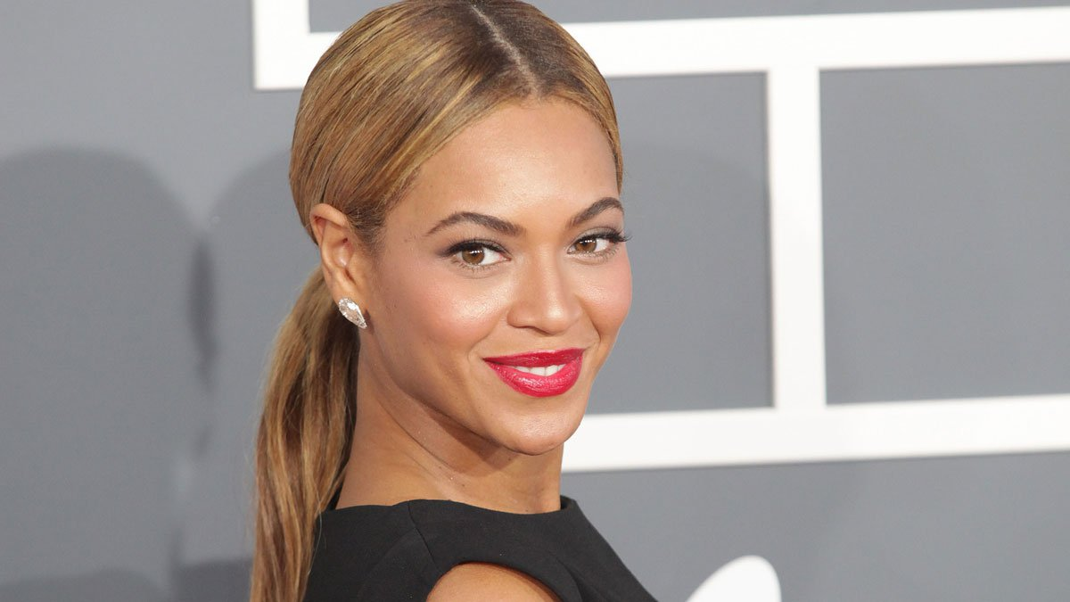 1. Beyoncé - photo credit: shutterstock