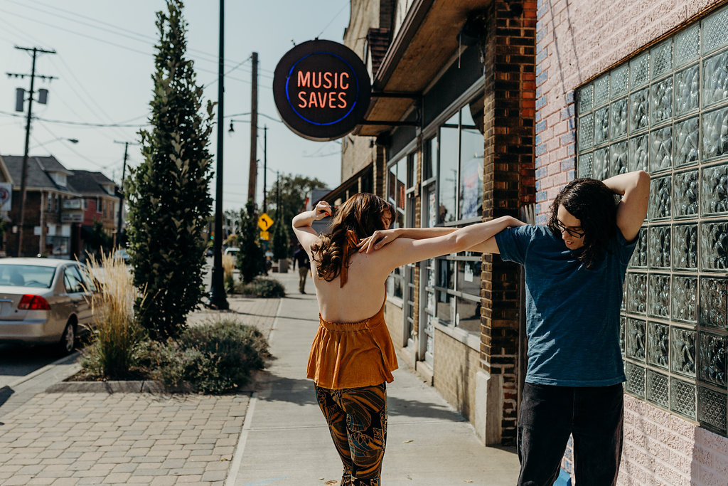 70's INSPIRED ENGAGEMENT SESSION | AIDAN + LINDSEY 26