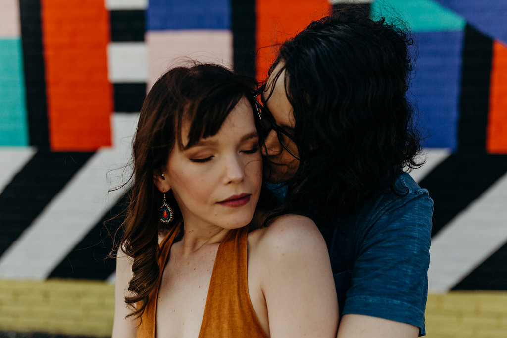 70's INSPIRED ENGAGEMENT SESSION | AIDAN + LINDSEY 34